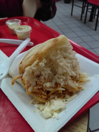 Mounds View, Миннесота: Chicken Arepa