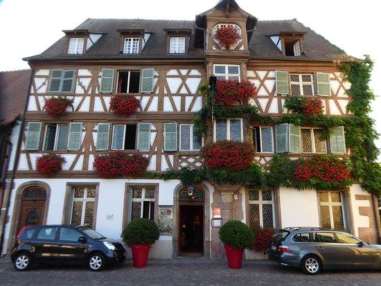 Turckheim, France: Wenn so ein Haus nicht zum Verweilen einlädt...?