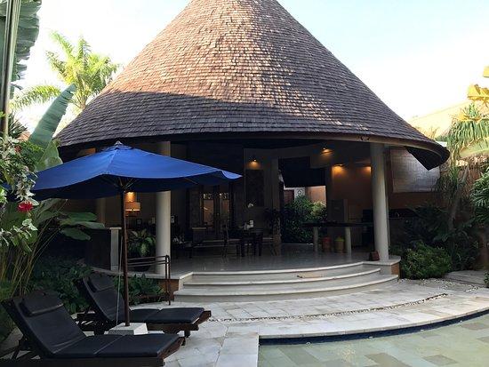 The Kunja Villas & Spa: 服務人員很親切,房間很大,設備很完善