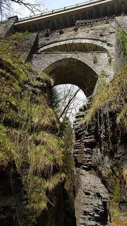 Devil's Bridge (Pontarfynach), UK: 3 for the price of one