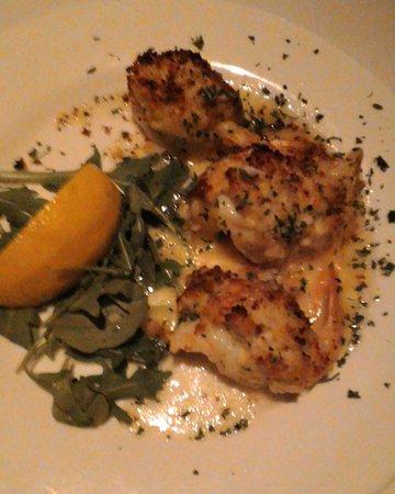 Tesoro Ristorante: Appetizer special - butterflied shrimp