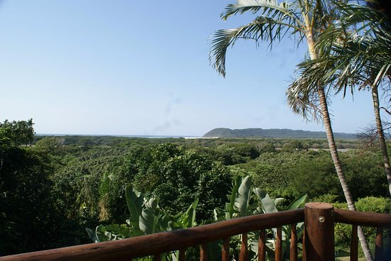 Ndiza Lodge and Cabanas: Breakfast with a view