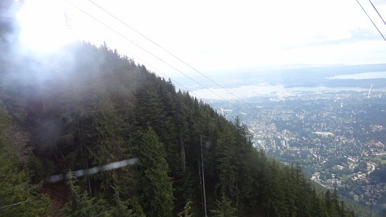 North Vancouver, Canada: on the way down