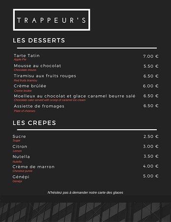 Montalbert, France: Les Desserts & Crêpes