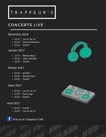 Montalbert, France: Le programme des concerts saison 2016-2017