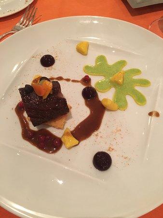 Sierre, สวิตเซอร์แลนด์: Filet de chevreuils aux écorces d'agrumes