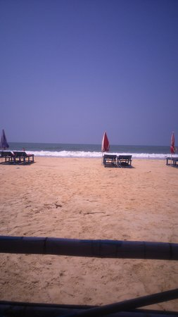 Chicken tikka and roti - Picture of Zalor Beach, Margao - TripAdvisor