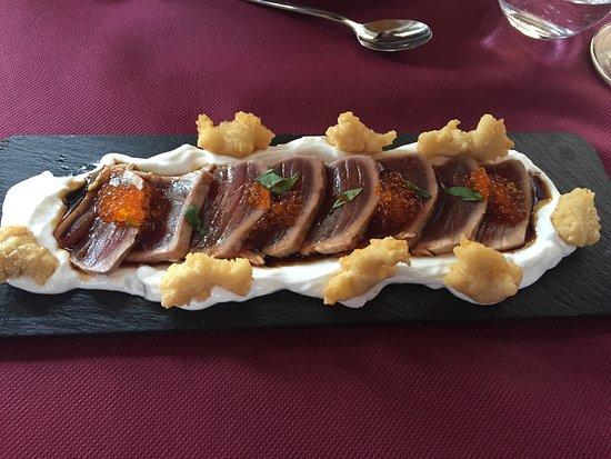 Salas Bajas, España: Menu degustacion 25€