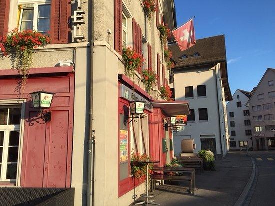 Frauenfeld, Schweiz: Hotellet sett fra siden