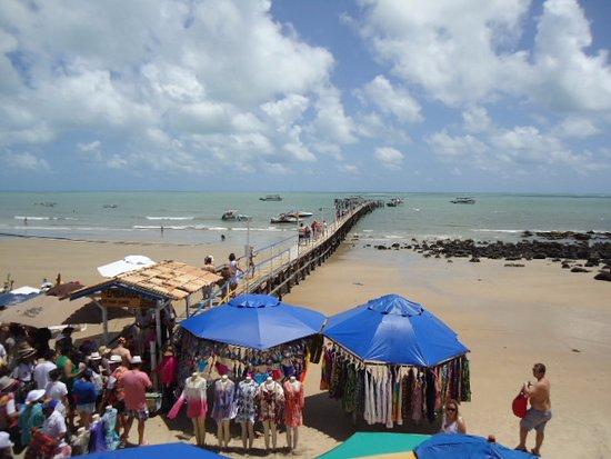 Pirangi do Norte beach: Cais de Embarque