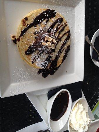 Wanneroo, أستراليا: Choc-Nutella pancake