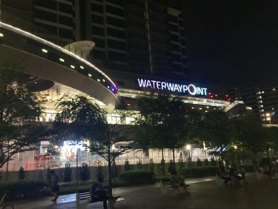 7f270e3fabc Entrance .. From Punggol MRT Stn - Picture of Waterway Point ...