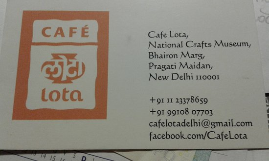 Business card of the restaurantif full you will have to leave cafe lota business card of the restaurantif full you will have to reheart Image collections