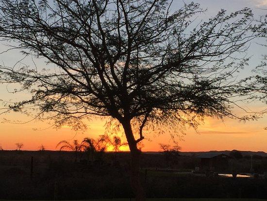 Keetmanshoop, Namibia: Sunset