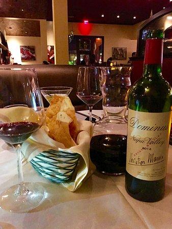 Tustin, CA: Dominus 2012 - A Great Wine