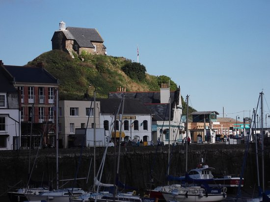 Ilfracombe, UK : Chapel on the hill