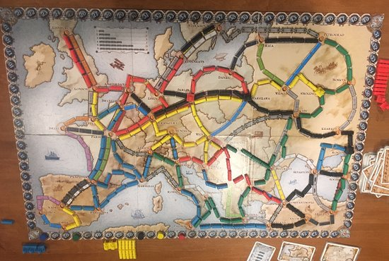 Ticket To Ride Europe Picture Of Spielbound Board Game Cafe Omaha
