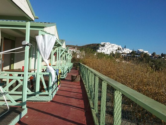 du bungalow la vue donn sur la mer photo de camping el pino torrox tripadvisor. Black Bedroom Furniture Sets. Home Design Ideas