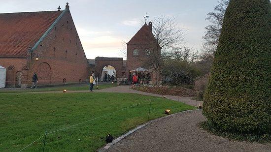 Haslev, Danmark: Gisselfeld Klostercafe