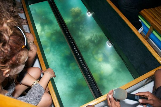 Somerset Village, Bermuda: View through the Glass
