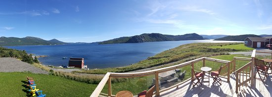 Norris Point, Canada: Panorama from common room