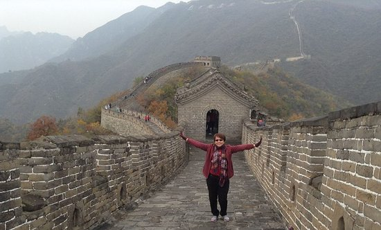 "The Great Wall of China ""You are not a hero until you climb the"