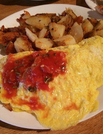 Atascadero, Kalifornia: Denver Omelette with Salsa