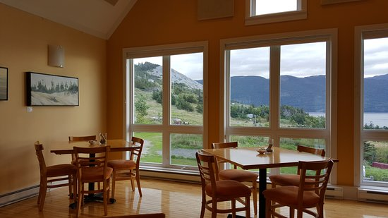 Norris Point, Canadá: Breakfast / dining room