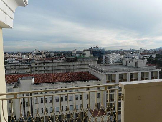 Hotel All'Alba: panorama dal balcone