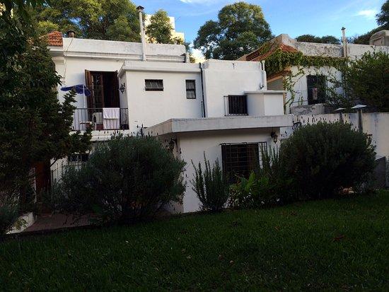 Destino26 Hostel: VISTA DESDE EL PARQUE DEL HOTEL