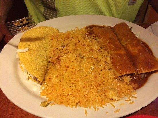Clarksburg, WV: Combination meal - lots of rice