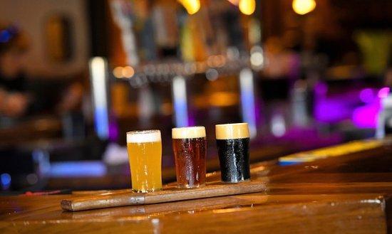 Eveleth, MN: Craft beer Flight