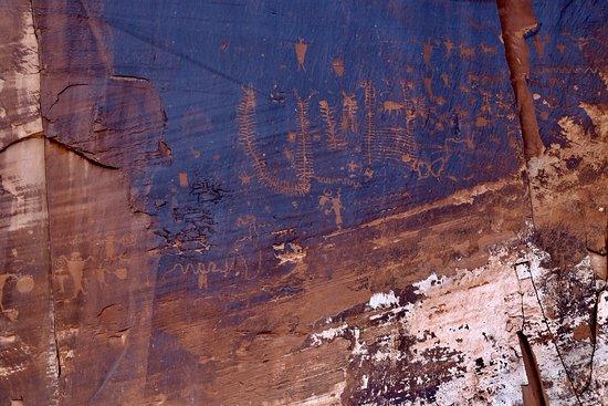Utah Scenic Byway 279 Rock Art Sites: Petroglyphs