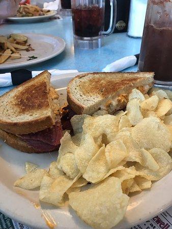 Hummelstown, Pennsylvanie : Rueben sandwich