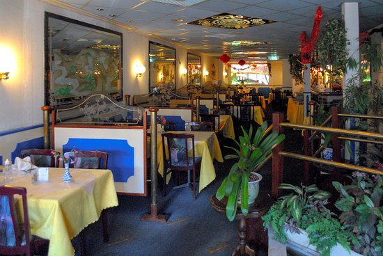 Santpoort-Noord, Holandia: Restaurant tafels