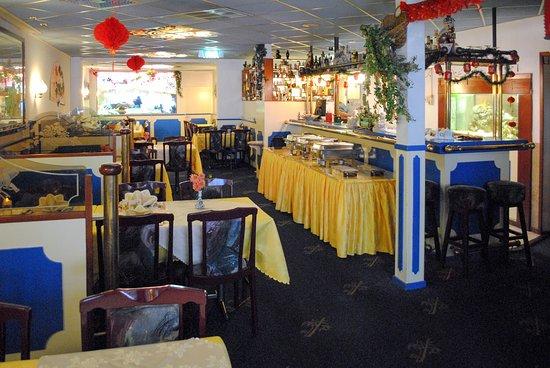 Santpoort-Noord, Holandia: Restaurant inrichting