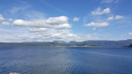 View of Norris Point from Woody Point