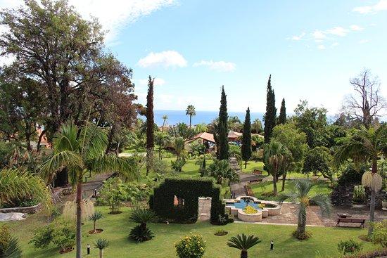Quinta Jardins do Lago: Ausblick Balkon Zimmer 311 (nach vorne)