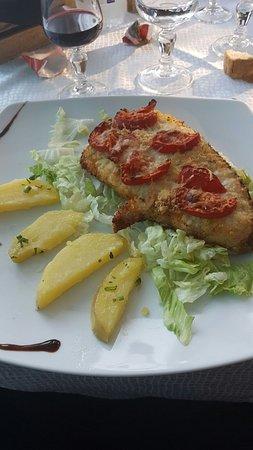Furci Siculo, Italien: Pesce Spada gratinato