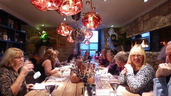Kilwinning, UK: The birthday party in full swing