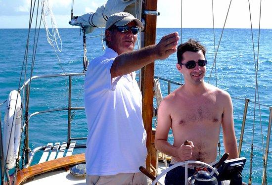 Esperanza, Puerto Rico: Micro sailing lesson
