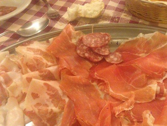 Soragna, Itália: affettato