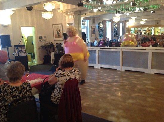 Poulton Le Fylde, UK: Entertainment first class!
