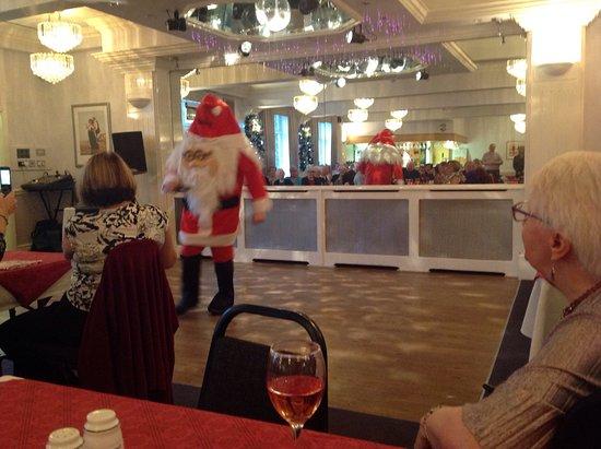 Poulton Le Fylde, UK: Bingo called by Santa!