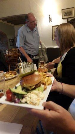 Chale, UK: Best burger