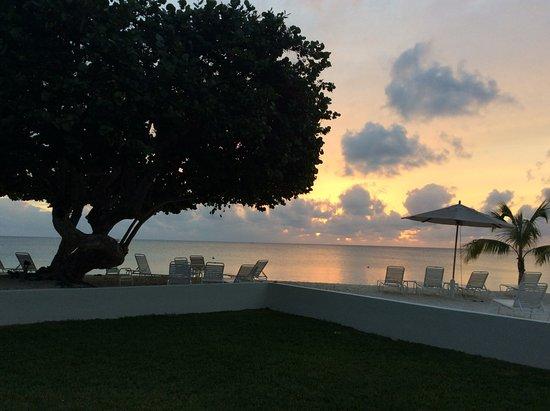 Plantana Condominiums: Sunset from my living room/screen patio