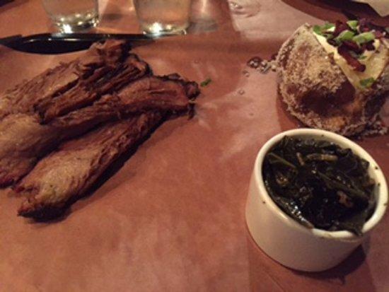 Proctorsville, Βερμόντ: BBQ Beef Platter