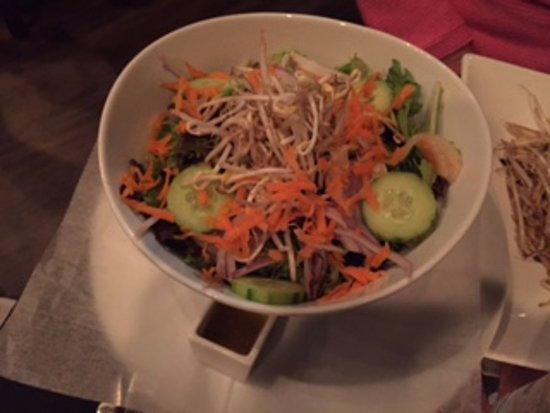 Proctorsville, VT: Thai Mixed Green Salad