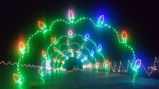 las vegas motor speedway christmas lights