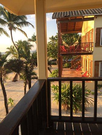El Pescador Resort: View from the balcony